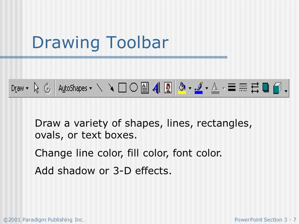 Drawing Lines Shapes Or Text On Bitmaps : Enhancing and customizing a presentation ppt video