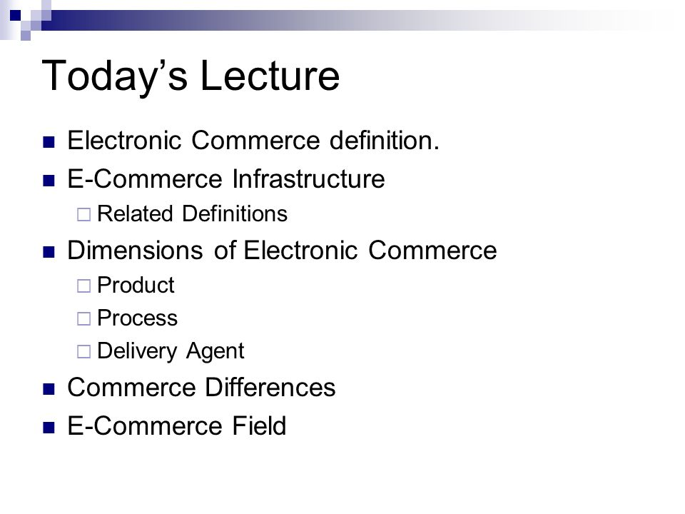 lecture 5 e commerce E-business lecture 5 e-commerce business models e-commerce models ( applications) three main categories: – business to consumer (b2c) – business  to.