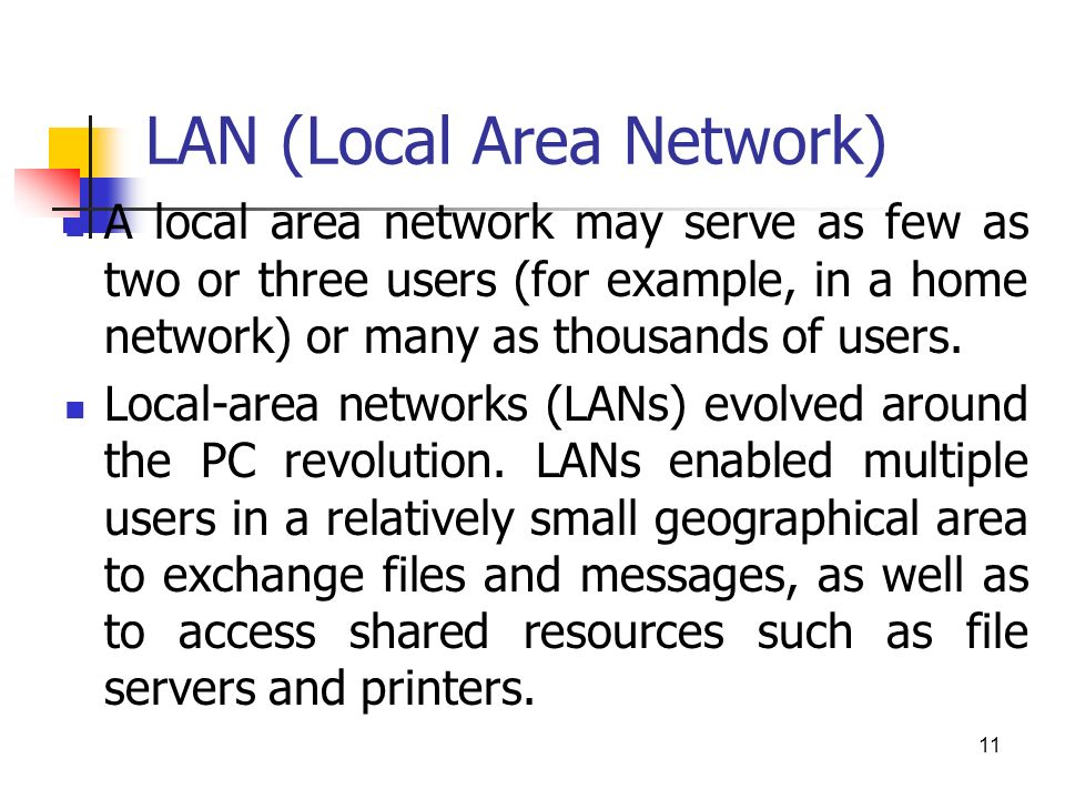 local area network thesis Introduction to wireless communications and networks  wireless local area networks (wlans), bluetooth and personal area networks.