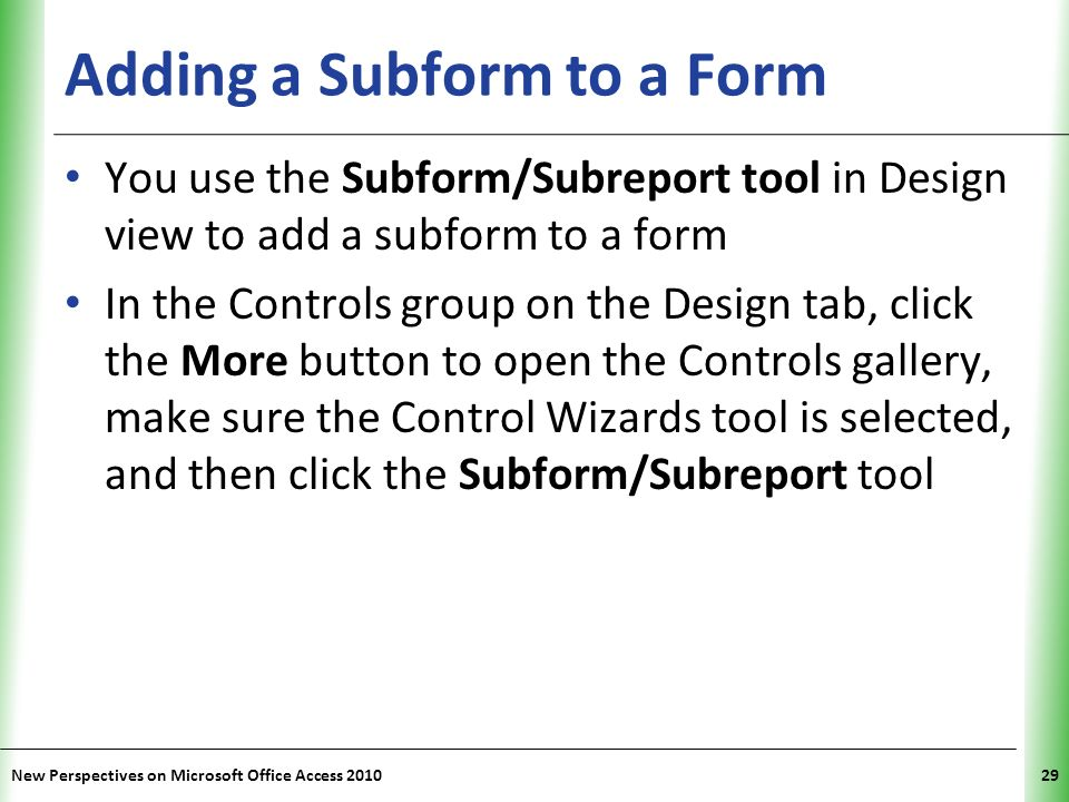 Tutorial 6 Using Form Tools and Creating Custom Forms - ppt video ...