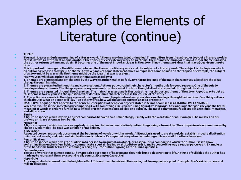 Examples Of Diction In Literature Visual Media As...