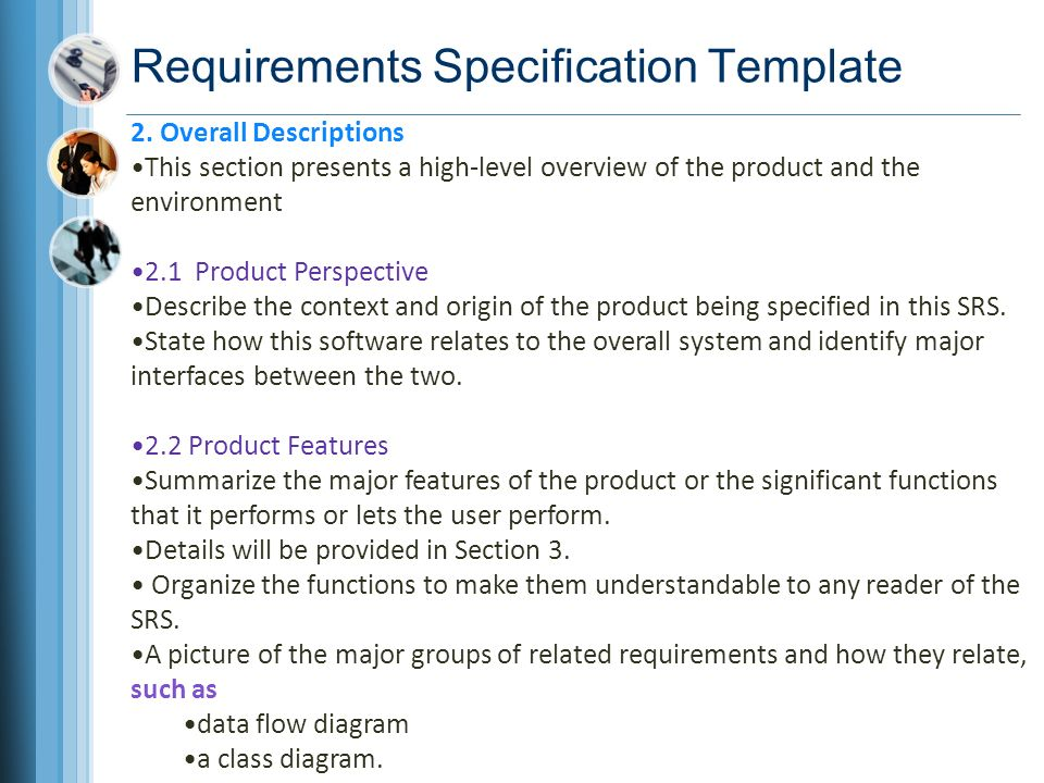 Chapter 10 documenting the requirements ppt video online for High level requirements template