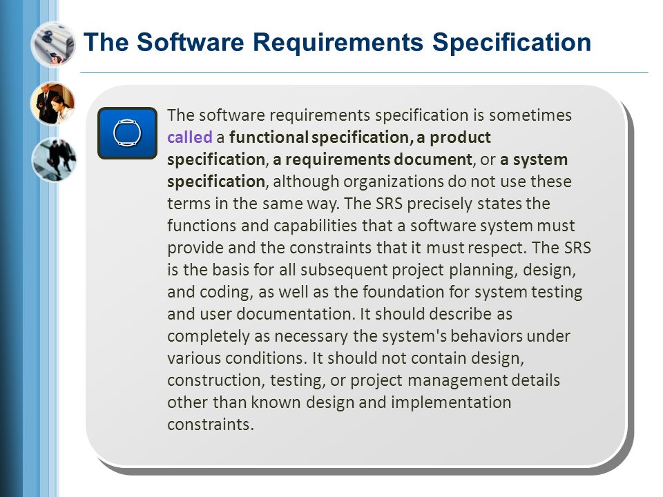 What, Why, Who, When, and How of Software Requirements