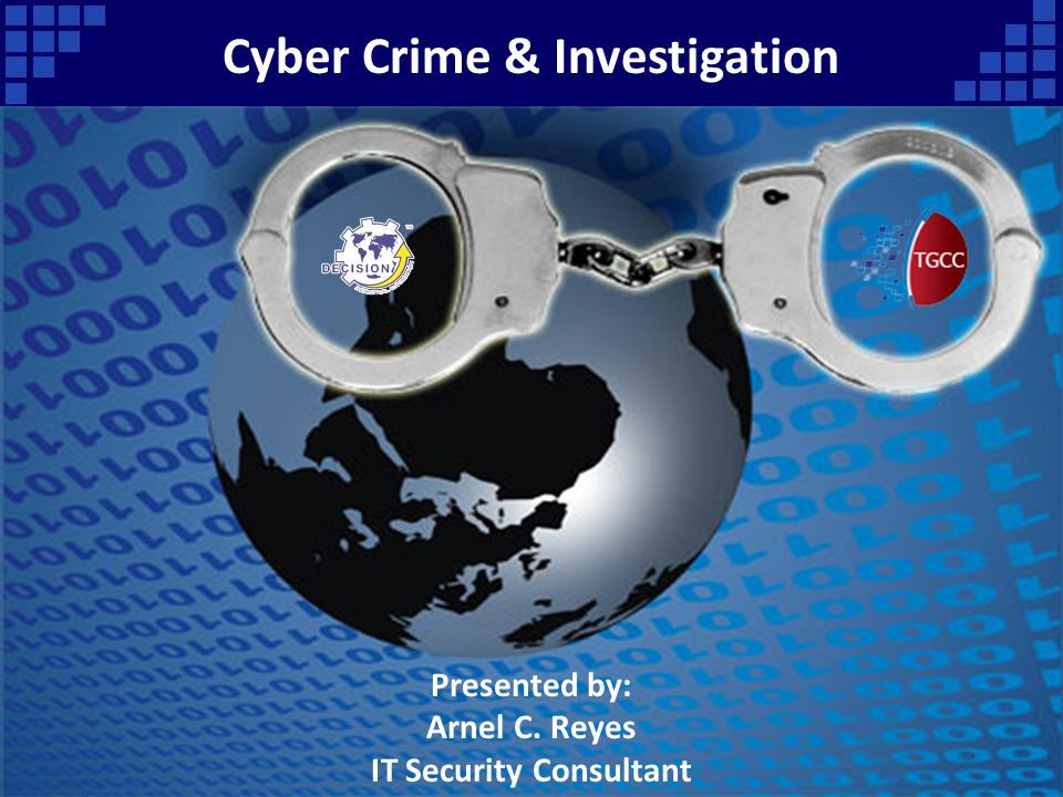 cyber crime investigation it security consultant ppt. Black Bedroom Furniture Sets. Home Design Ideas