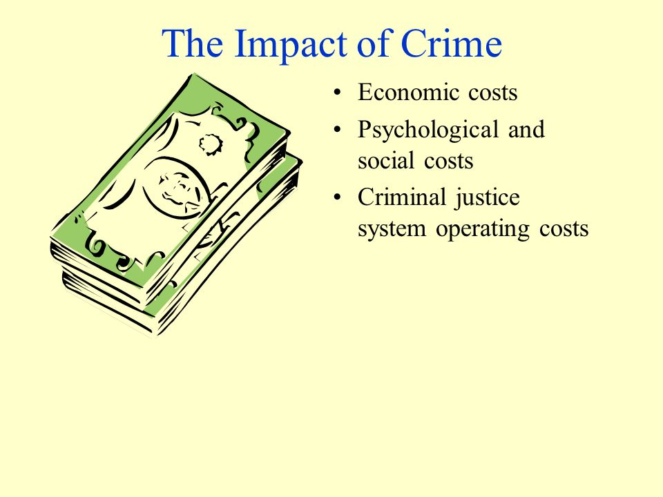 Economic effects of crime