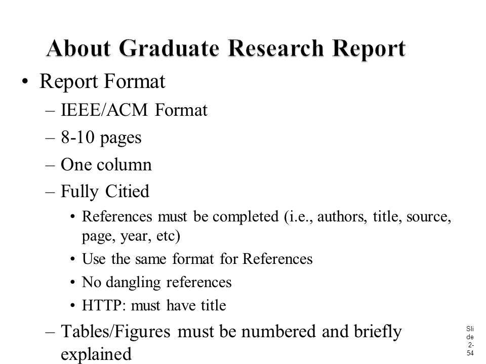 acm research paper format Create an accessible acm submission using microsoft word  (note the acm format of 2 columns should remain unchanged but this method should be used in case this is.