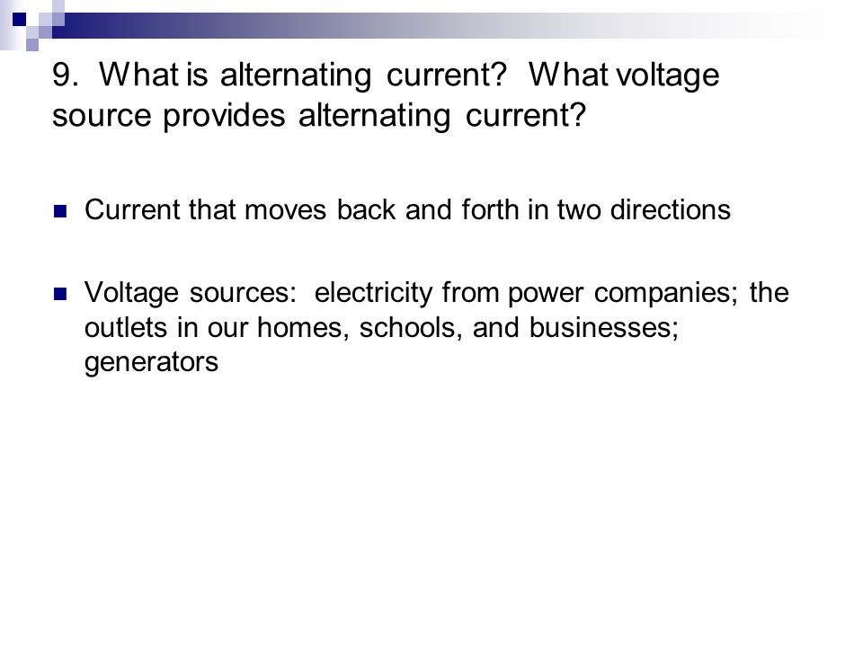 alternating voltage and current pdf