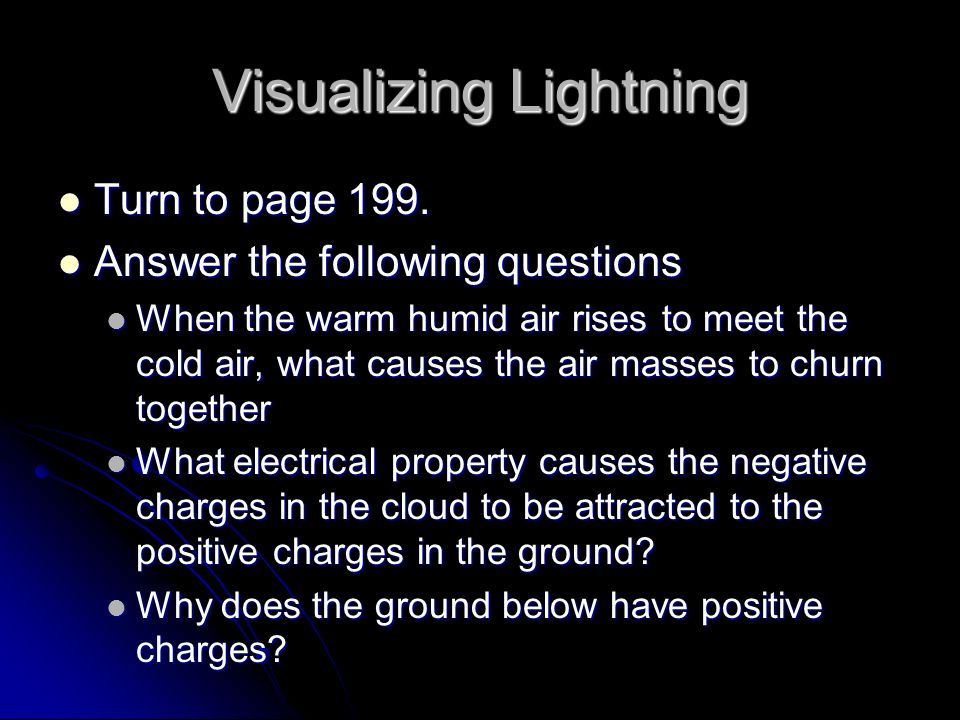Visualizing Lightning