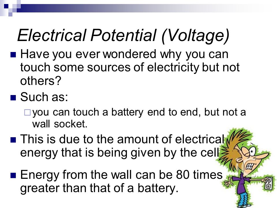 Electrical Potential (Voltage)