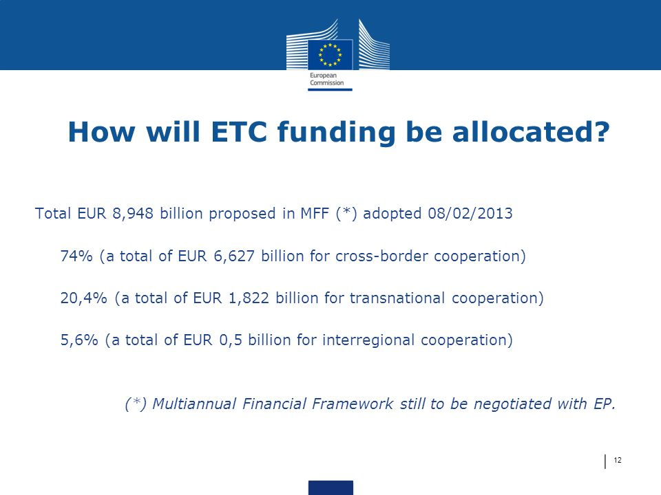How will ETC funding be allocated