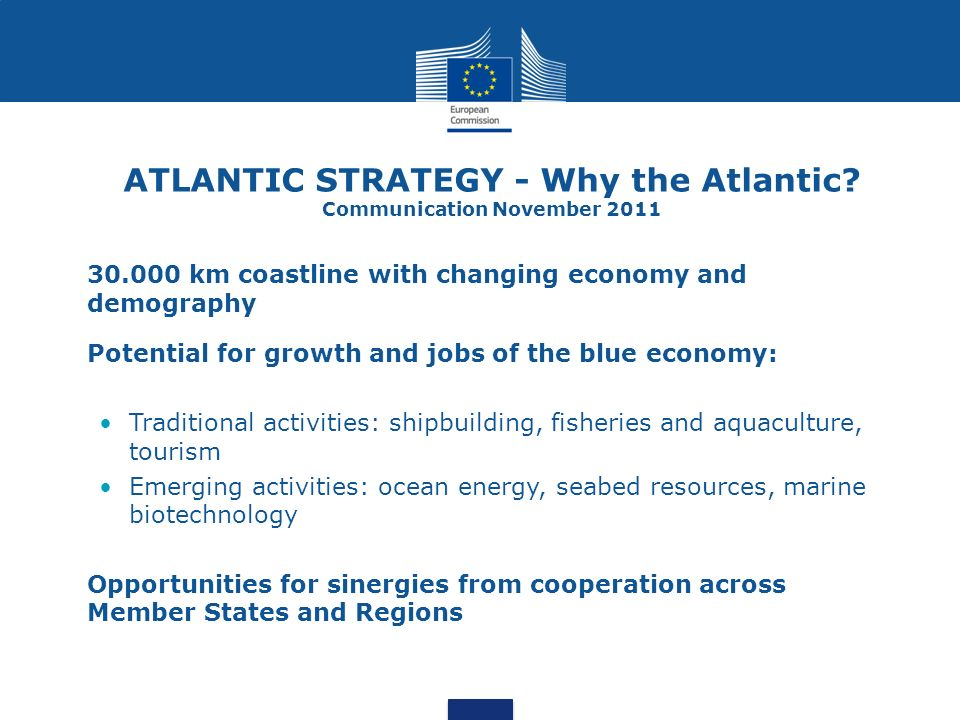 ATLANTIC STRATEGY - Why the Atlantic Communication November 2011