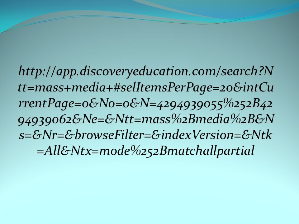 http://app. discoveryeducation. com/search