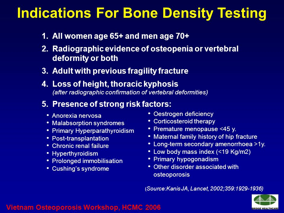 an analysis of the disease osteoporosis low bone density This condition of having low bone density is called osteopenia, and it means you have a greater risk of developing osteoporosis in the future people with osteopenia may need to make lifestyle changes or get other treatments to prevent progression of the disease.