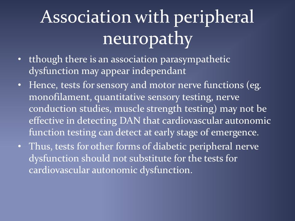 Autonomic Neuropathy In Diabetes Ppt Video Online Download