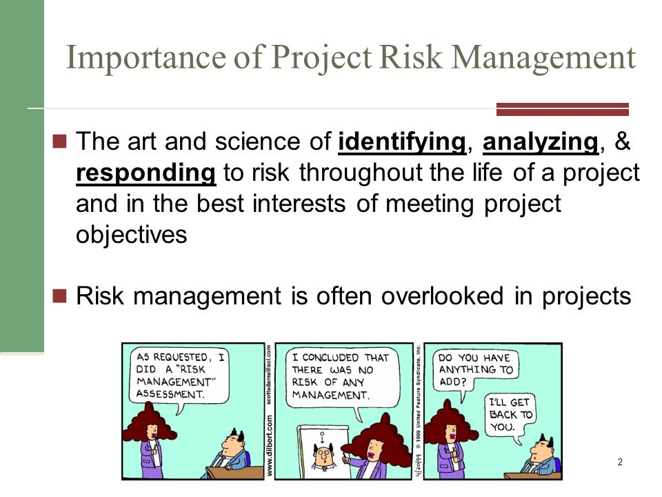project management the importance of