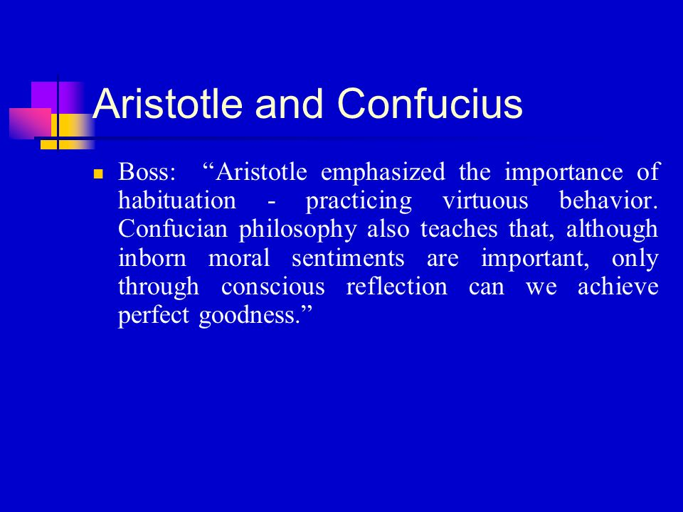 reflection on confucius philosophy Confucius's educational theory analyst:  confucius' philosophy was that it was natural for man to be social,  followed by reflection,.