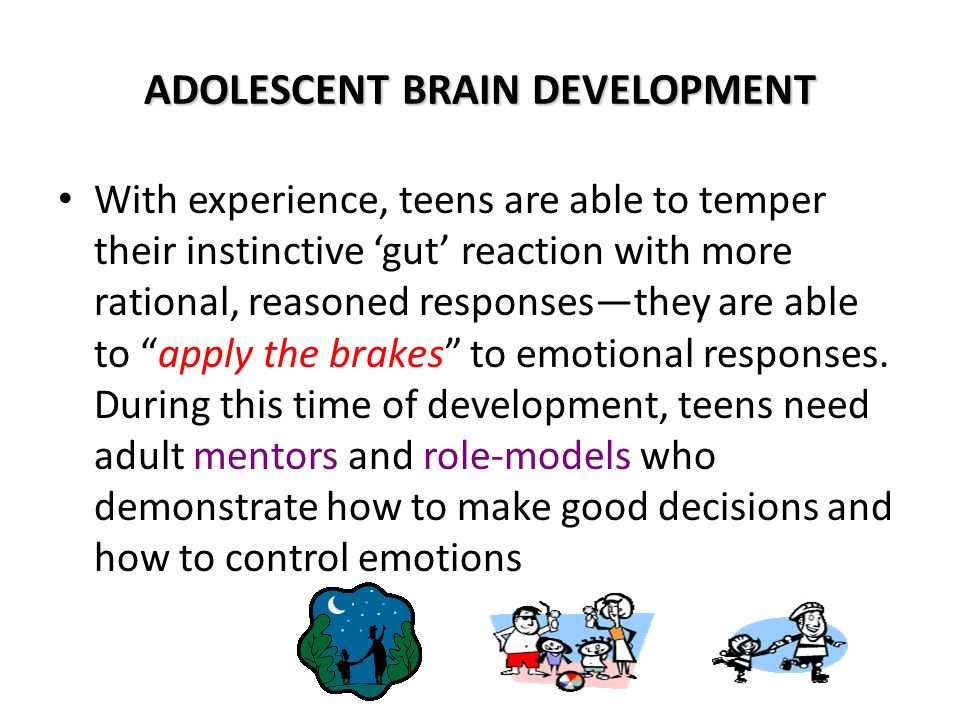 the vulnerability of the adolescent brains to positive feedback in teenage brains are malleable and  Teens' brains are more sensitive to rewarding feedback from changes the calculus of adolescent making by changing the way their brains.