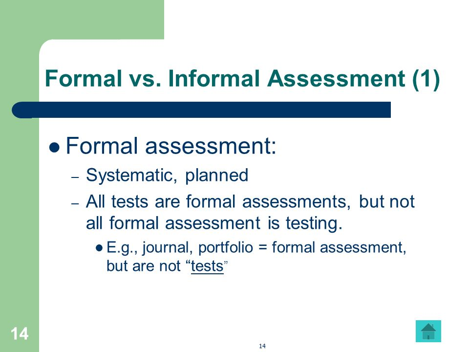Introduction: Teaching And Testing/Assessment - Ppt Download