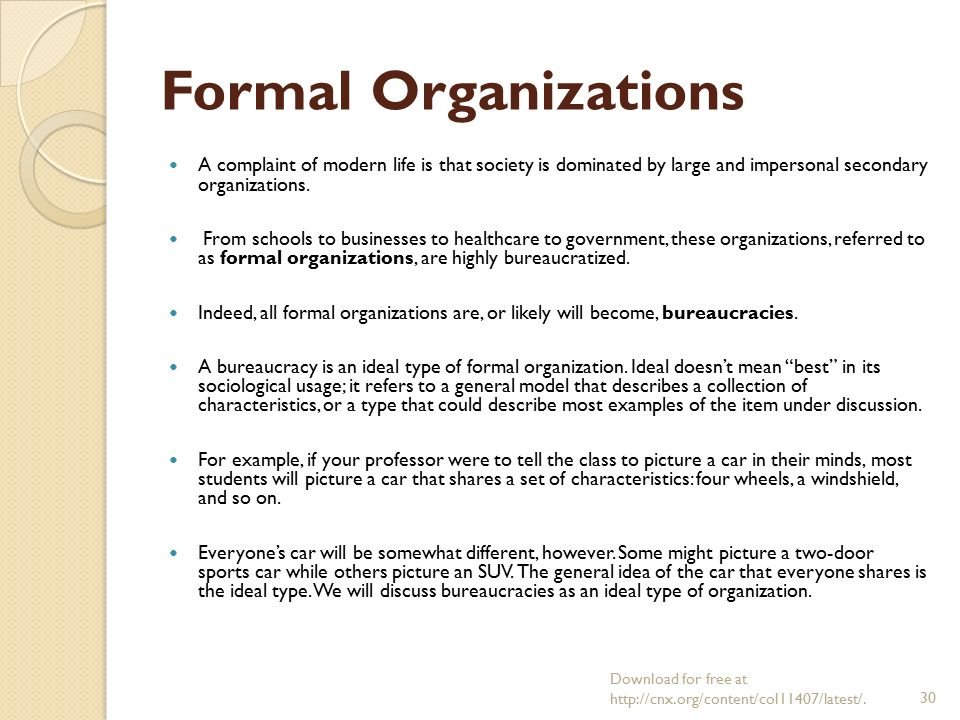 Sociology chapter 6 groups and organization prof dr halit for 6 characteristics of bureaucracy