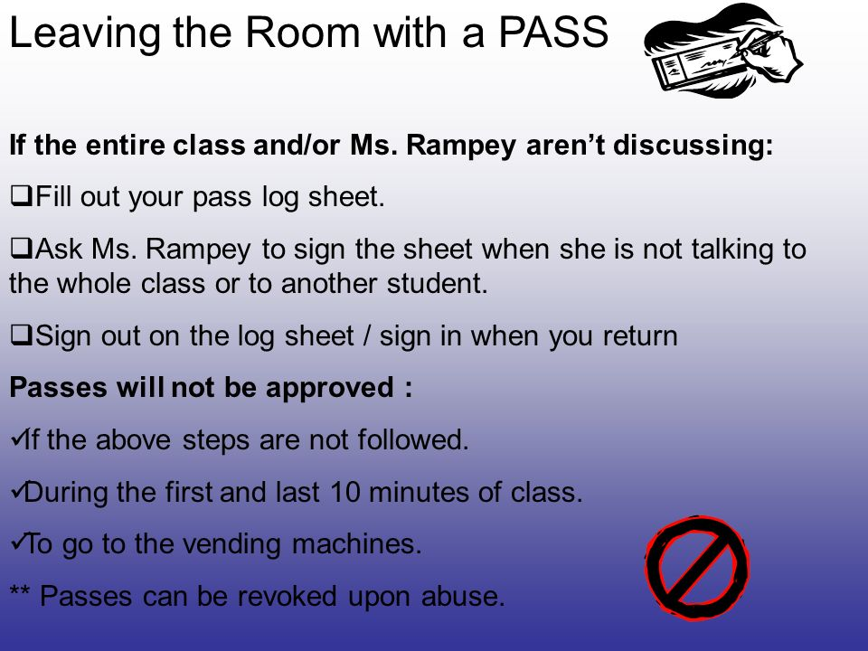 Classroom Procedures And Rules  Ppt Download