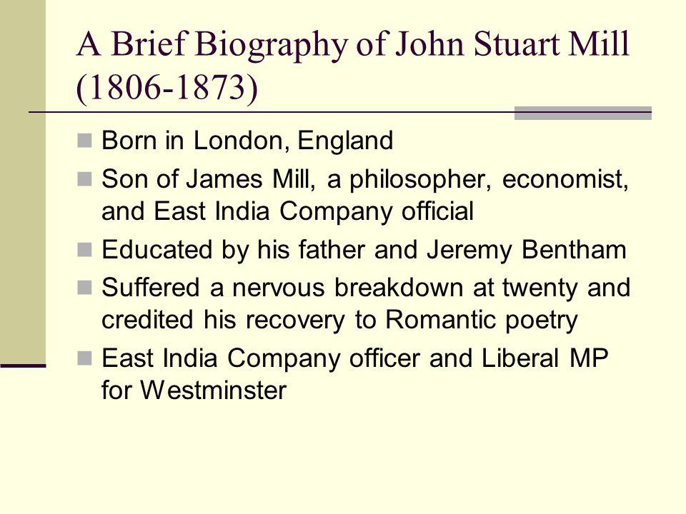 john stuart mill 6 essay Essay about john stuart mill and utilitarianism 1313 words 6 pages john stuart  mill and utilitarianism utilitarianism defined, is the contention that a man.