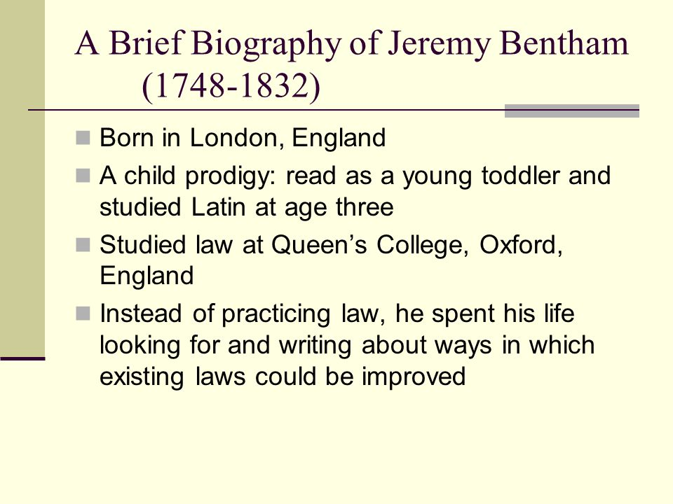 the principle of utility according to jeremy bentham and john stuart mill Jeremy bentham & john stuart mill by jeremy bentham chapter i of the principle of utility according to the four following circumstances: its intensity its duration its certainty or uncertainty its propinquity or remoteness iii.
