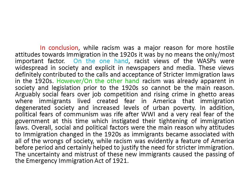 Prejudice vs discrimination essay