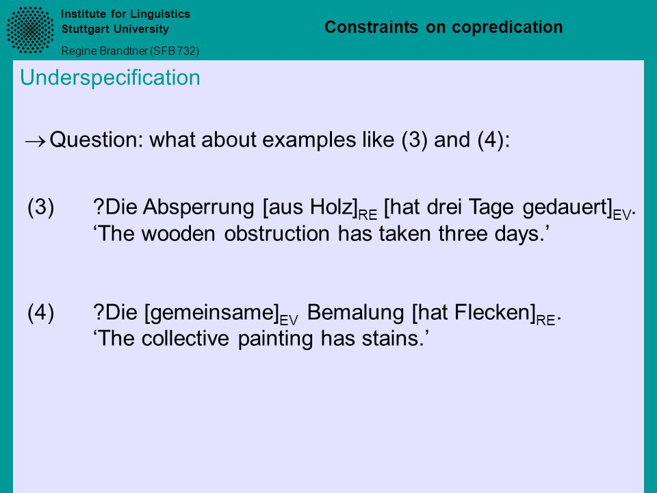 Question: what about examples like (3) and (4):