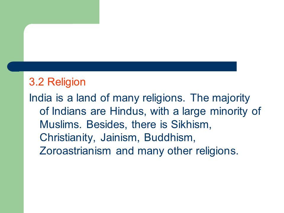 3.2 Religion