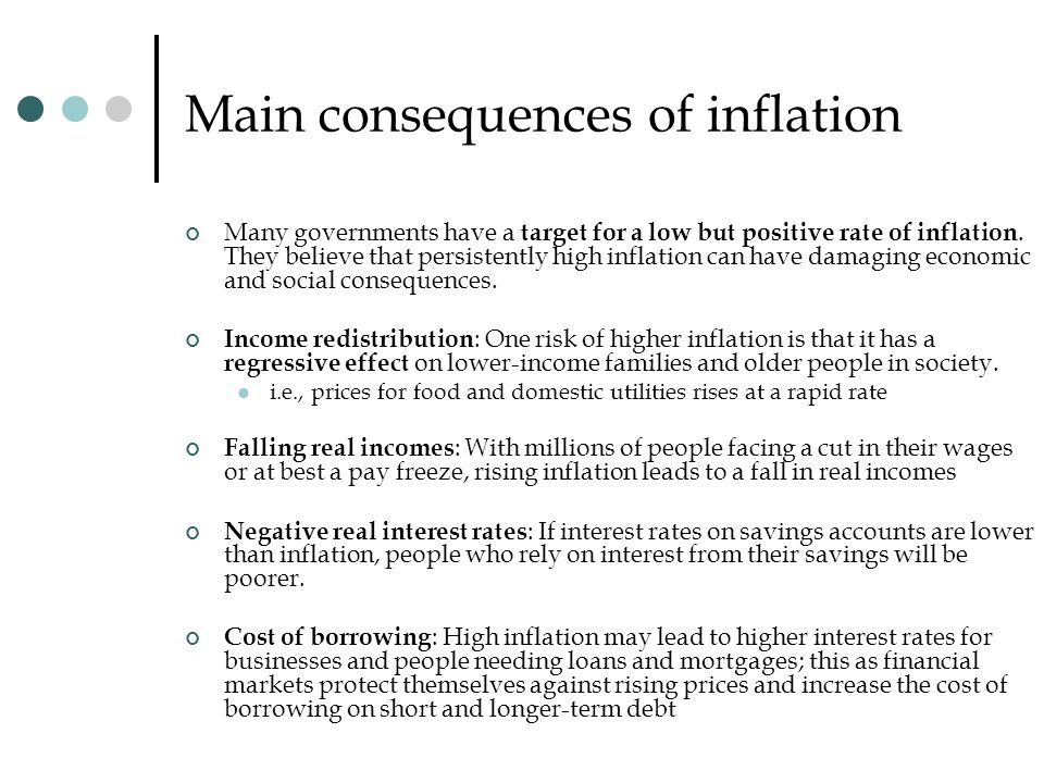 inflation effects on various societal What is inflation and its effects on the various segments of the society , basically inflation is the long haul ascend in the costs of products and ventures brought about by the degrading of cash while there are points of interest to inflation which i will talk about later in this article i need to first concentra.