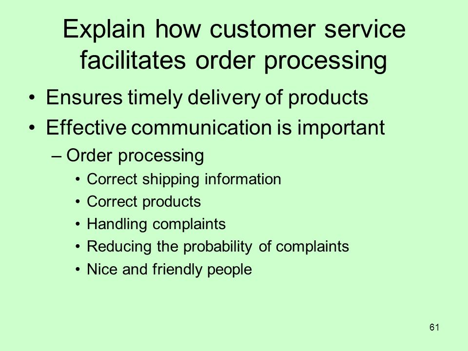 explain how customer service is essential for effective retailing The importance of good customer service in a retail for excellent retail customer service giving a great experience to the customer you are important.