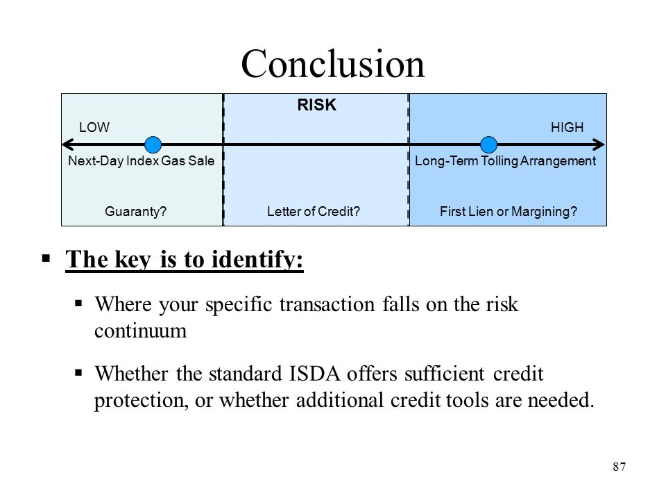 Isda credit protections tools to mitigate your companys risks 87 conclusion platinumwayz