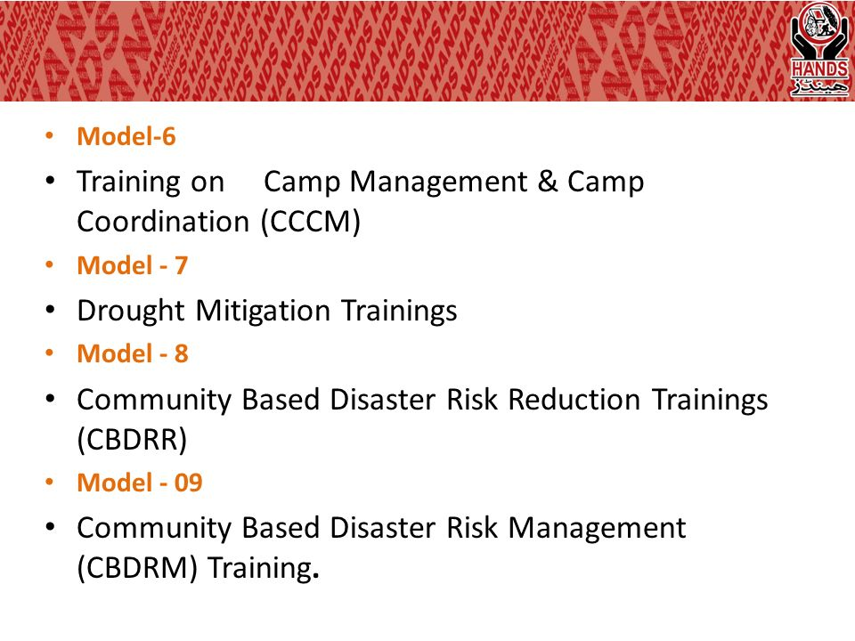 community based disaster risk management Community-based disaster risk management (cbdrm) into local planning and  programming this research study has been undertaken under.
