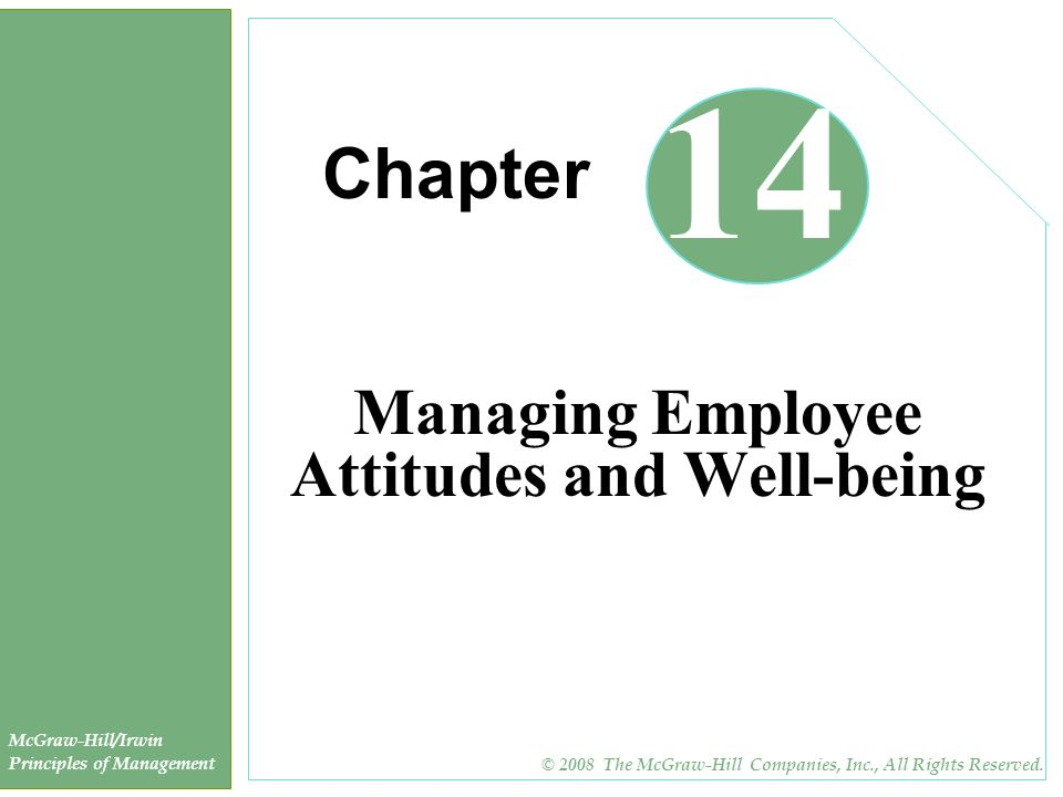 employee attitude and job satisfaction ppt Employees' job satisfaction becomes a central attention in the researches and discussions in work and organizational employee attitudes and job satisfaction.