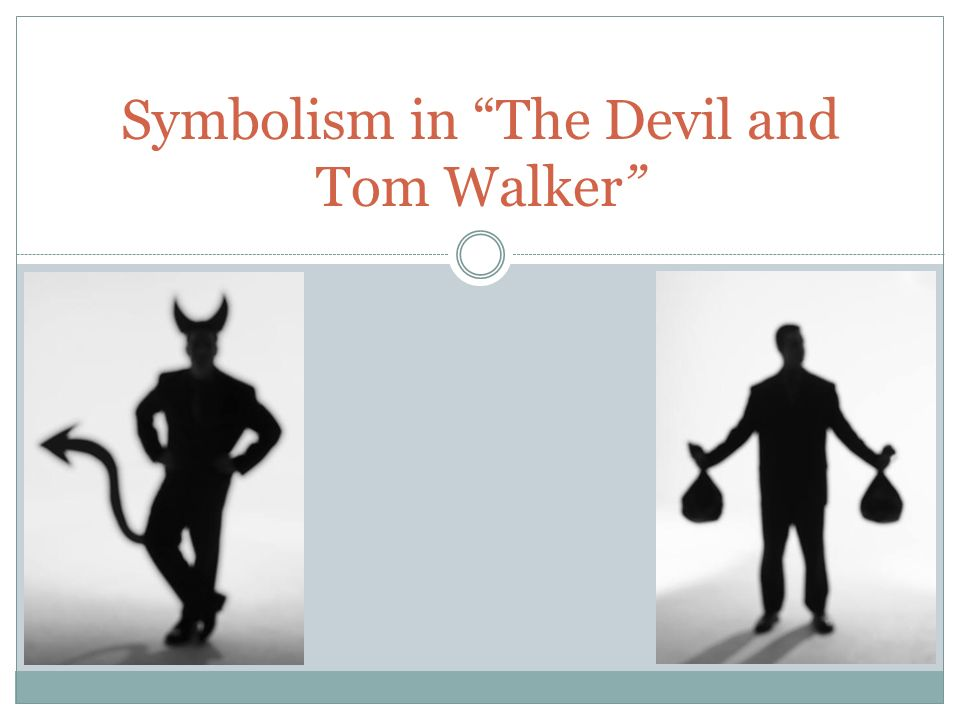 the devil and tom walker theme