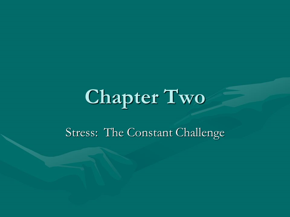 stress a constant challenge Stress stress is the body's reaction to a change that requires a physstress is a feeling that's created when we react to particular events it's the body's way of rising to a challenge and preparing to meet a tough situation with focus, strength, stamina, and heightened alertnessical, mental or emotional adjustment or response.