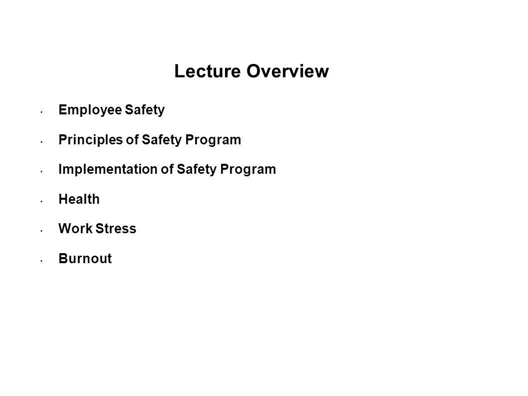 principles of health and safety at work pdf