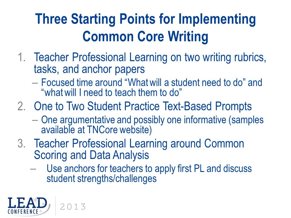 good starting points for essays