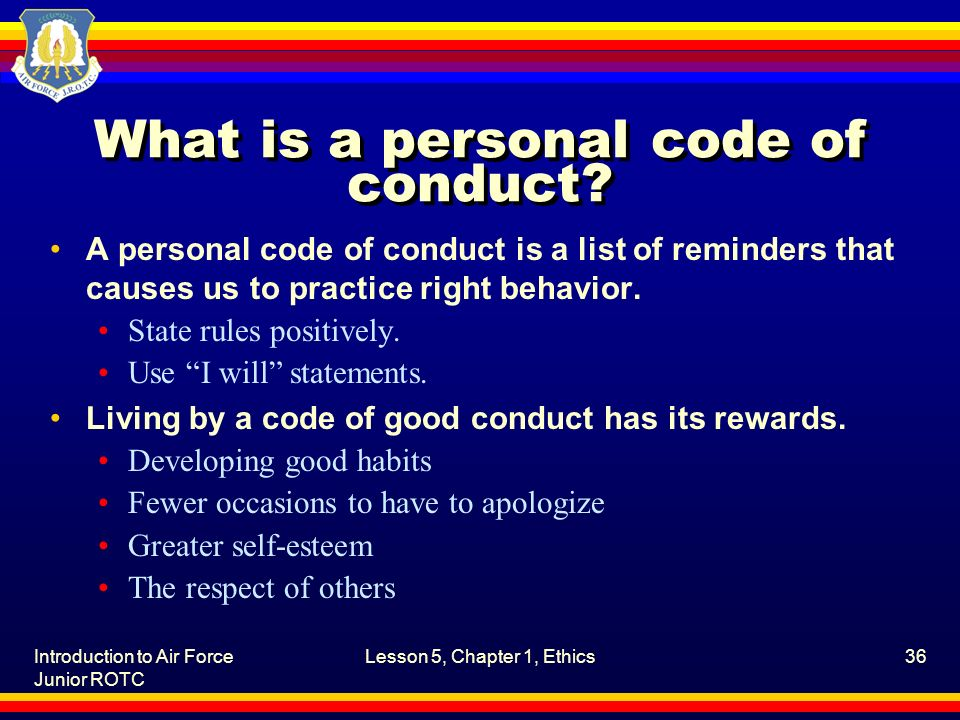 developing a personal code of ethics Singapore has corralled the public and private sector to develop what it hopes will become a voluntary governance code for the ethical use of.