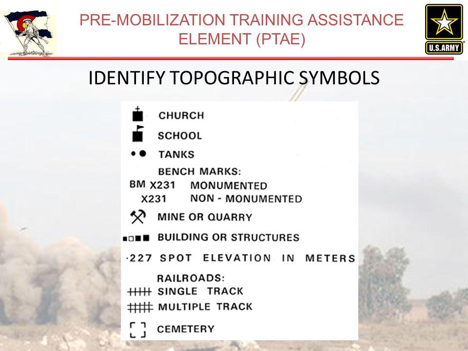 Land Navigation WTT Ppt Download - Us army map symbols