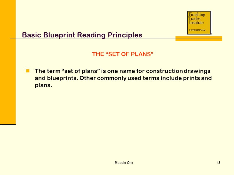 Module one basic blueprint reading principles ppt video online basic blueprint reading principles malvernweather Gallery