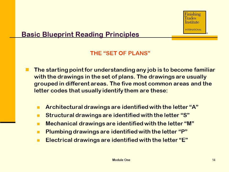 Module one basic blueprint reading principles ppt video online basic blueprint reading principles malvernweather Choice Image