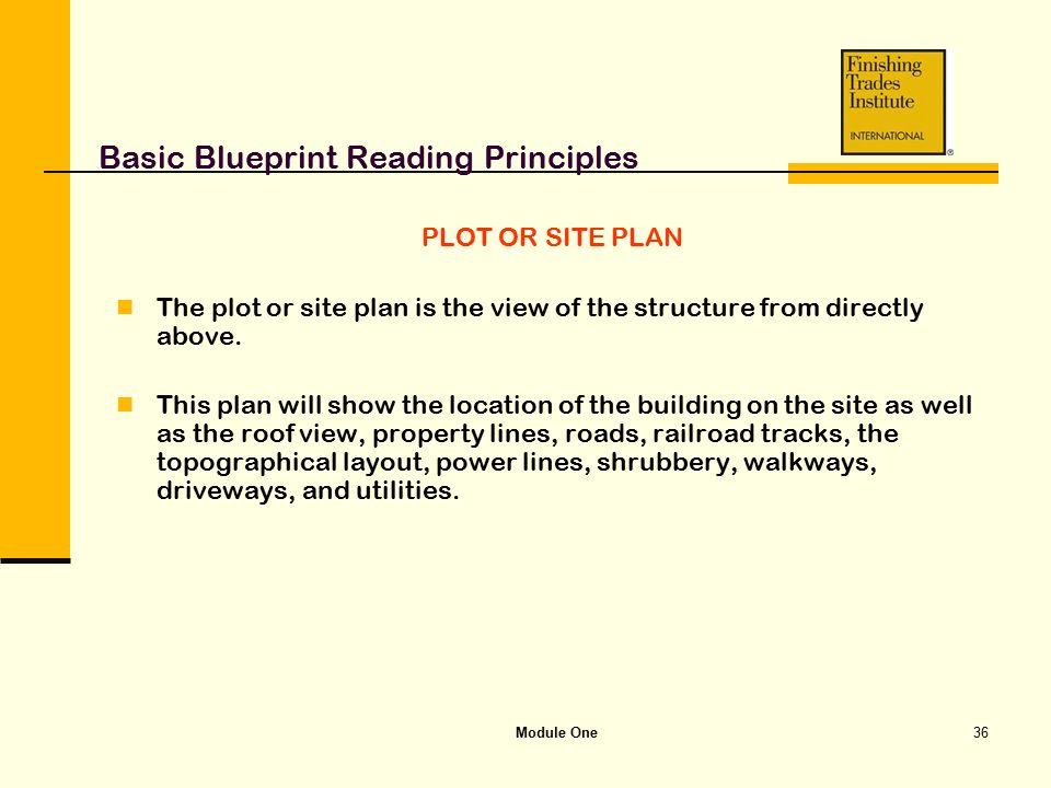 Module one basic blueprint reading principles ppt video online basic blueprint reading principles malvernweather Gallery