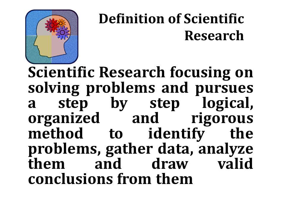 SCIENTIFIC INVESTIGATI...