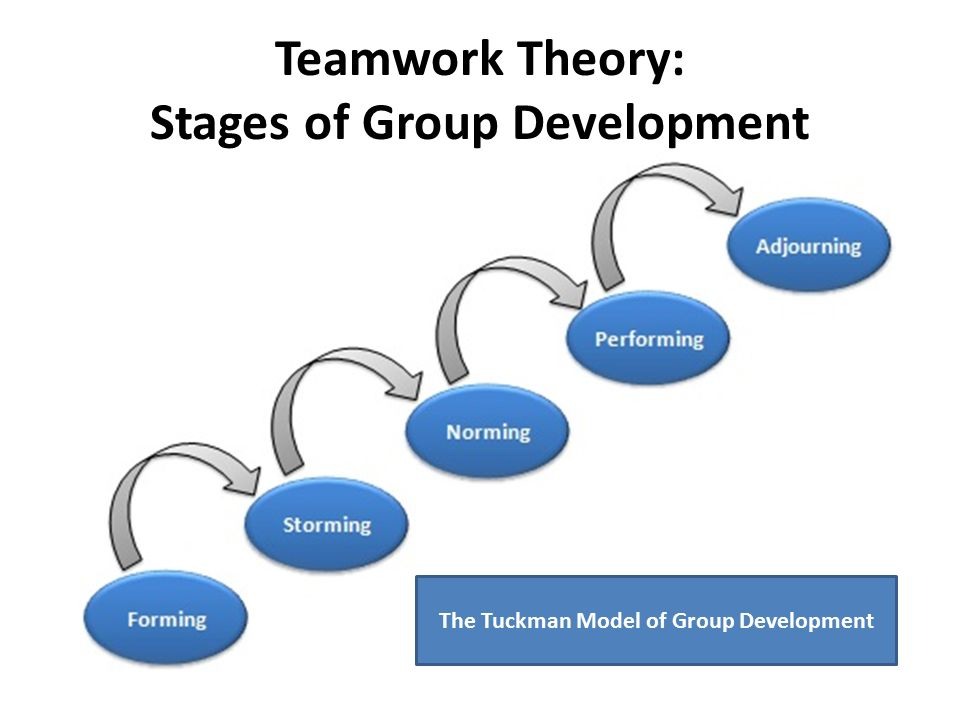 Teamwork Theory: Stages of Group Development
