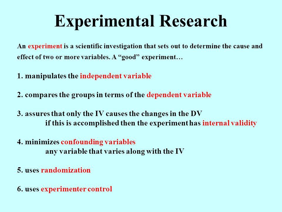 Experimental study - TheFreeDictionary Medical Dictionary
