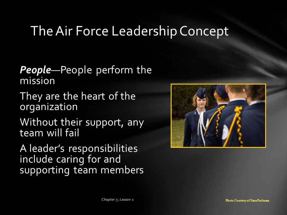The Air Force Leadership Concept