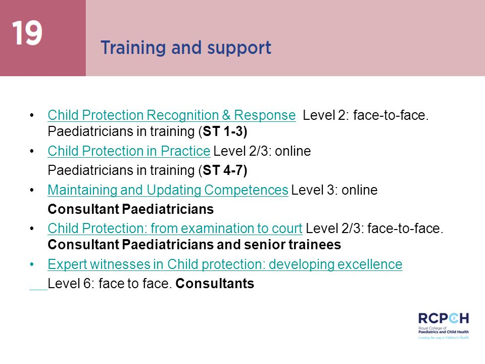 Child Protection in Practice Level 2/3: online