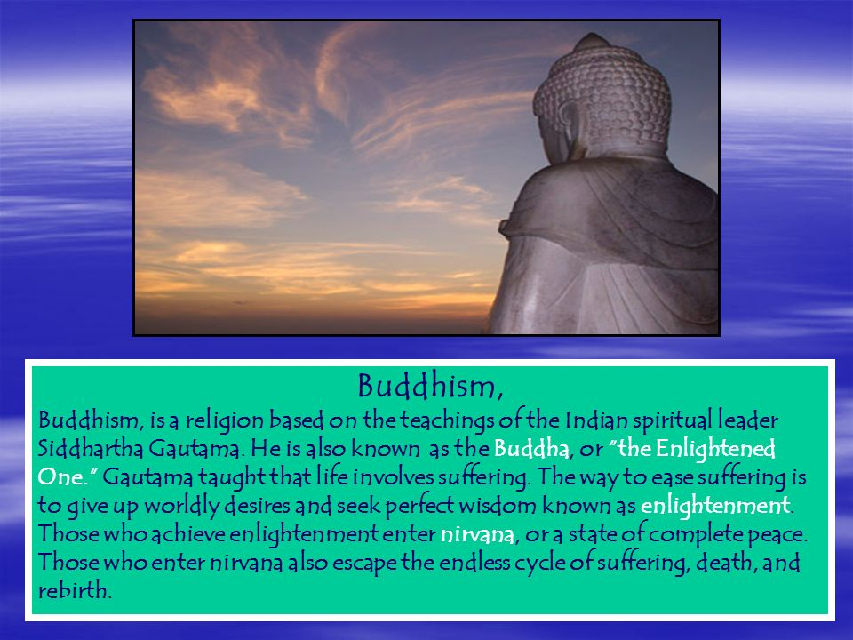 the concept of death in buddhism daoism and in christianity Early taoism focused on this-worldly goals or on immortality of the physical body later, in reaction to buddhism, taoism incorporated concepts of heaven, hell, and rebirth.