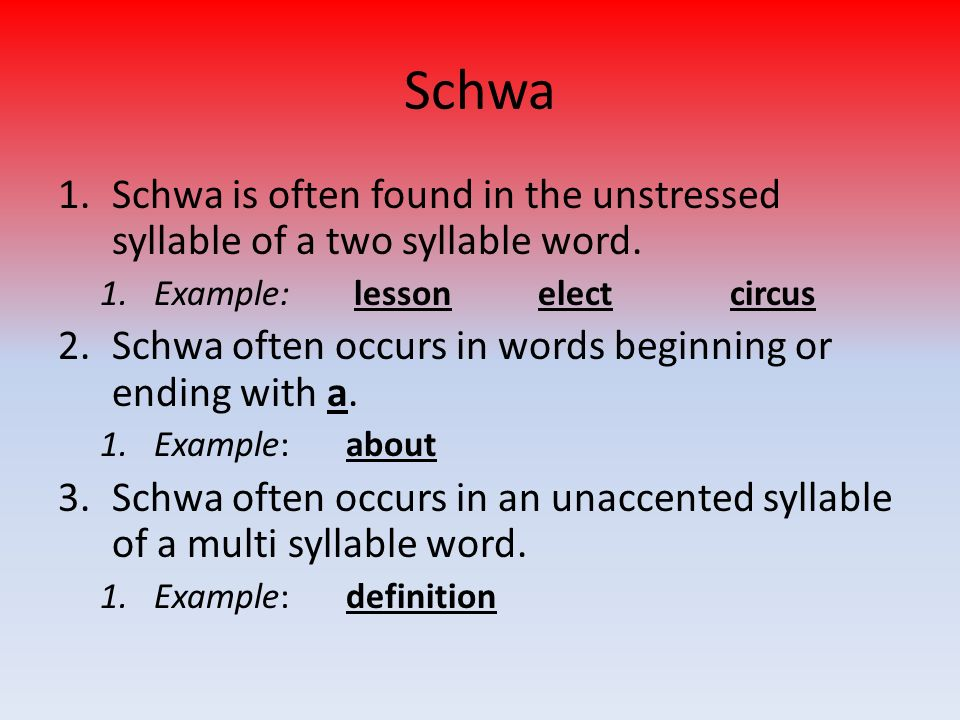 Schwa Examples Choice Image Example Cover Letter For Resume
